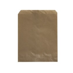 BROWN PAPER BAG NO2 SQUARE FLAT 500S