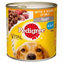 FIVE KINDS OF MEAT DOG FOOD 700GM