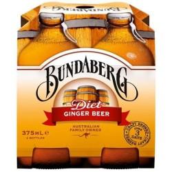 DIET GINGER BEER 4X375ML