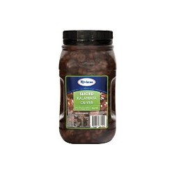 KALAMATA OLIVES SLICED 2KG