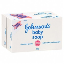 J&J BABY T/SOAP 2X95GM