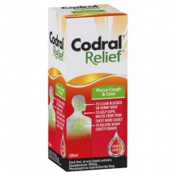 CODRAL RELIEF COUGH&COLD 200ML
