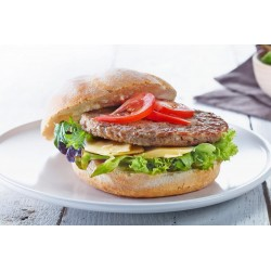 HAMBURGER INDIVIDUALLY QUICK FROZEN 48X100GM