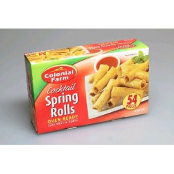 COCKTAIL SPRING ROLLS 54 PACK 918GM