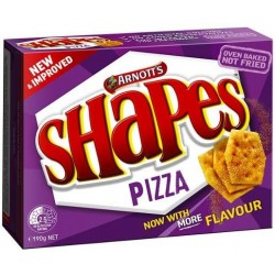 SHAPES SNACKS PIZZA 190GM