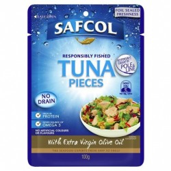RESPONSIBLY FISHED TUNA PIECES WITH EXTRA VIRGIN...