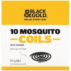 MOSQUITO COILS WITH HOLDER 10PK