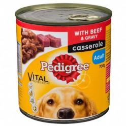 BEEF CASSEROLE DOG FOOD 700GM