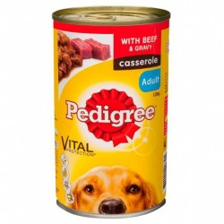 BEEF CASSEROLE DOG FOOD 1.2KG
