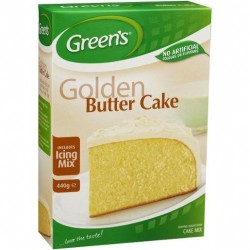 CAKE MIX GOLDEN BUTTER TRAD WITH ICING MIX 440GM