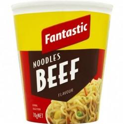 NOODLES CUP BEEF 70GM