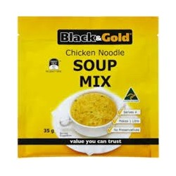 BLACK & GOLD CHICKEN NOODLE SOUP 50GM