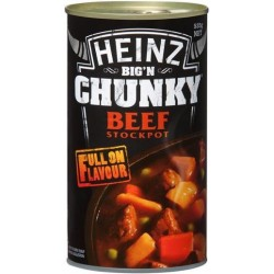 BIG N CHUNKY BEEF SOUP STOCKPOT 535G