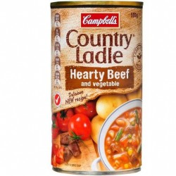 COUNTRY LADLE BEEF AND VEGETABLE SOUP 500GM