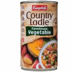 COUNTRY LADLE SOUP FARMHOUSE VEGETABLE 495G
