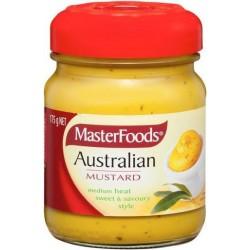 MILD AUSTRALIAN MUSTARD 175GM
