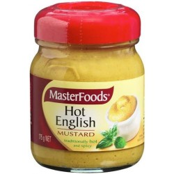 HOT ENGLISH MUSTARD 175GM