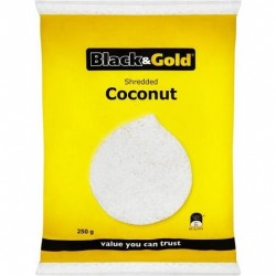 SHREDDED COCONUT 250GM