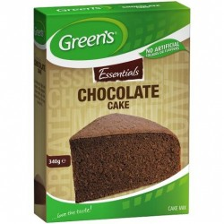 ESSENTIALS CAKE MIX CHOCOLATE 340GM