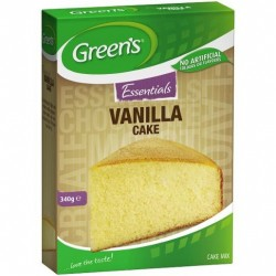 ESSENTIALS CAKE MIX VANILLA 340GM