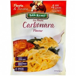 CARBONARA - 4 SIDE SERVES 120GM