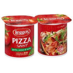 LEGGOS PIZZA SAUCE 2X140GM