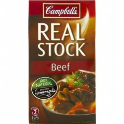 REAL STOCK BEEF 500ML