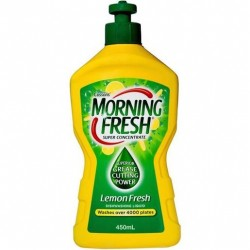 LEMON FRESH DISHWASHING LIQUID 450ML