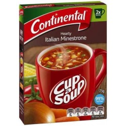 HEARTY ITALIAN MINESTRONE CUP-A-SOUP 2 SERVES...