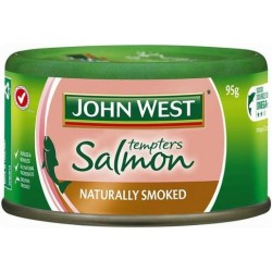 SMOKED FLAVOUR SALMON TEMPTERS 95G