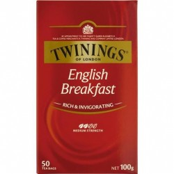 ENGLISH BREAKFAST CLASSICS TEABAGS 50S