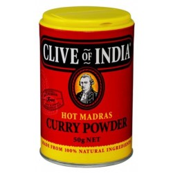HOT MADRAS CURRY POWDER 50GM