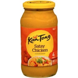 SATAY CHICKEN COOKING SAUCE 4 SERVE 505GM