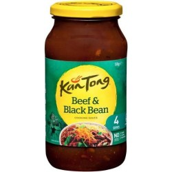 BEEF & BLACKBEAN COOKING SAUCE 510gm