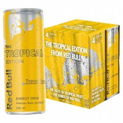 SUMMER EDITION ENERGY DRINK 4X250ML
