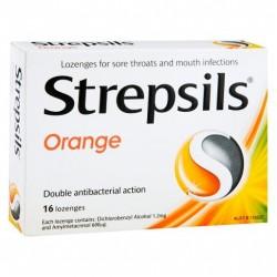 STREPSILS ORANGE 16S