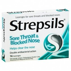 STREPSILS SORE THROAT B/NOSE 16S