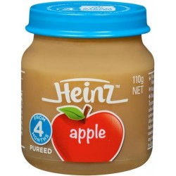 STRAINED APPLE BABY FOOD 110GM