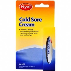 NYAL COLD SORE CREAM 10GM