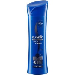SUNSILK SHAMPOO DETOX FOR MEN 200ML