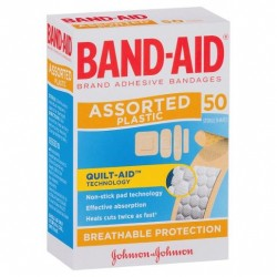 BANDAID PLASTIC SHAPES 50S