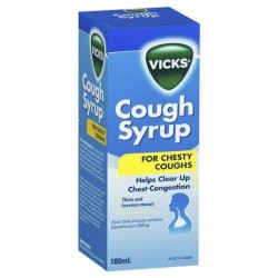 VICKS COUGH SYRUP 180ML