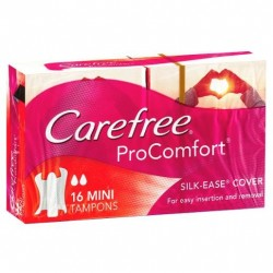 CAREFREE TAMP PROCMFRT MINI16S
