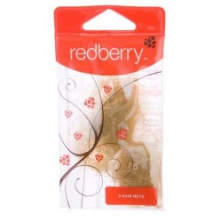 REDBERRY HAIR NET 3PK
