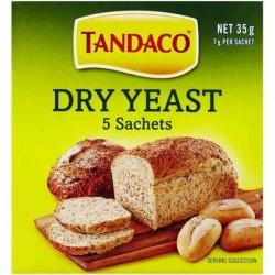 TANDACO DRY YEAST SACHETS 5PK