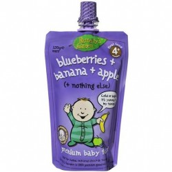 RAFFERTY BLUEERRY BANANA APPLE BABY PUREE 120GM