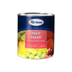 FRUIT SALAD IN NATURAL JUICE 3KG
