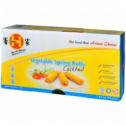 SPRING ROLLS COCKTAIL 96 PACK 1.44KG