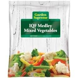 MEDLEY MIXED VEGETABLES INDIVIDUALLY...