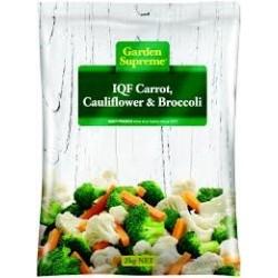 CARROTS CAULIFLOWER AND BROCCOLI...